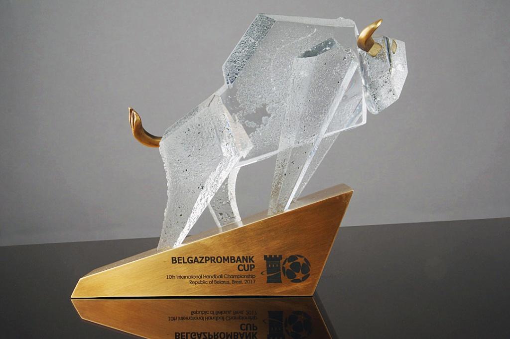 На юбилейном Кубке Белгазпромбанка разыграют настоящее произведение искусства